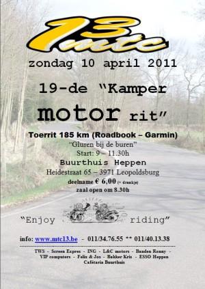 19-th Kamper Motor Rit