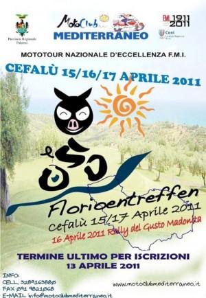 Florioentreffen 2011 Mototour d'Eccellenza Moto Club Mediterraneo