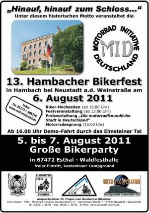 13th Hambacher Bikerfest