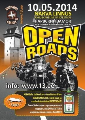 Open Roads 2014