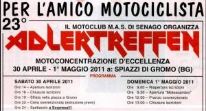 Mc.N. Adletreffen (M.A.S. MC) Мотослет в Италии