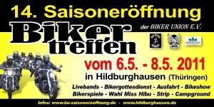 BU Saisoneröffnung - Мотослет в Германии.
