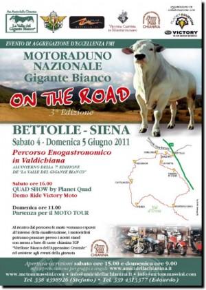 Gigante Bianco on the Road - Моторалли в Италии
