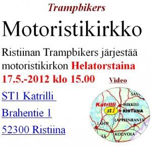 Мероприятие Motoristikirkko