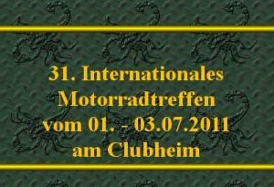 31th International Motorradtreffen - Международный мотофестиваль