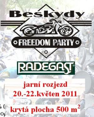 Мотофестиваль в Чехии Freedom Party