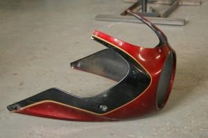 Cafe racer batwing обтекатель custom