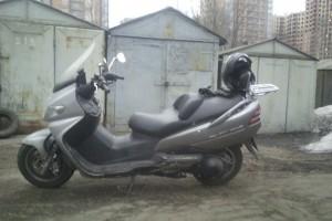 Серебряный Suzuki AN 400 2002