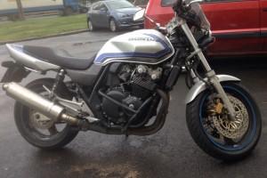 Серый металлик Honda CB 400 SF 2001
