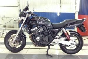 Черный металлик Honda CB 400 SF 1993