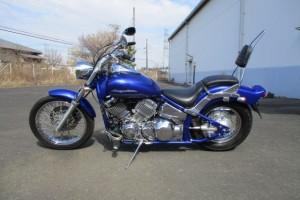 Синий металлик Yamaha XVS 400 Drag Star Custom 2001