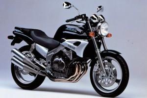 Белый Yamaha FZX 250 Zeal 1996