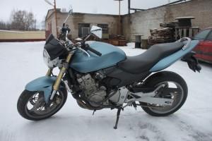 Голубой Honda CBF 600 2006