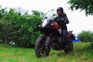 Катаем на KTM Adventure 1090