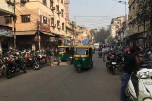 По Индии на мотоцикле.