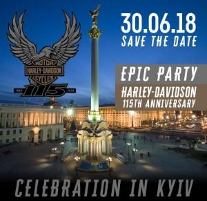 Harley-Davidson 115th anniversary celebration
