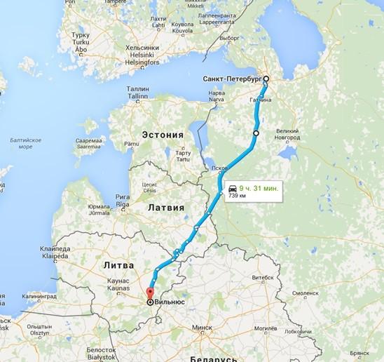 быть чтоб минск-санкт петербург сколько ехать на машине поможет