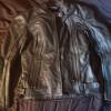 Куртка мотоциклетная женская кожаная р-р 46-48 за 1 р.