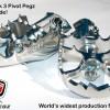Подножки Mark 3 поворотные Pivot Pegz, BMW F650GS, F700GS, F750GS, F800GS/A, F850GS за 11 400 р.