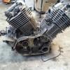 Двигатель ( частично разобран) без док. Yamaha Drag Star 1100 Целиком или по зап.частям за 1 р.