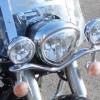 Фара штатной люстры Yamaha XVS 1300 Midnight Star за 3 500 р.