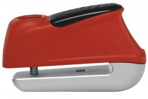 Скоба на тормозной диск ABUS 345 Tigger Alarm Red за 4 250 р.
