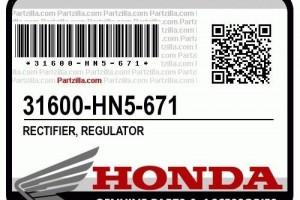 Реле регулятор Honda 31600-HN5-671 за 5 000 р.
