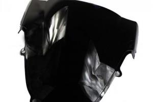 Ветровое тонированное стекло для Suzuki GSX-R600/750/1000 '01-03, черное за 1 800 р.
