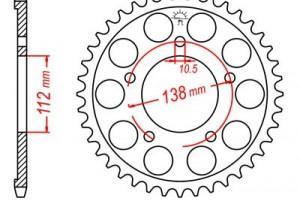 Звезда задняя (ведомая) JTR1873-48 за 1 300 р.
