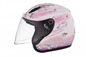"Открытый шлем ""SOL SL-17S RABBIT"", бело-розовый перламутр за 4 990 р."