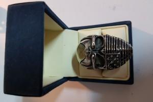 Перстень из хирургической стали за 1 250 р.