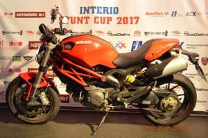 Красный Ducati Monster 796 2014