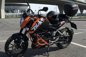 KTM 200 Duke 2012 за 164 000