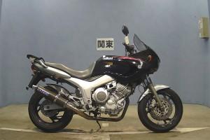 Черный Yamaha TDM 850 1997