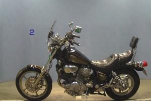 Коричневый Yamaha XV 1100 Virago 1991