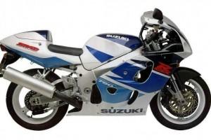 Suzuki GSX-R 750 1998 за
