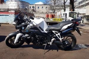 Белый BMW K 1200 R 2006
