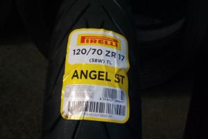 PIRELLI 120/70ZR17 M/C TL (58W) ANGEL ST F за 7 040 р.