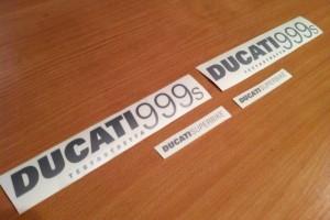 Полный комплект наклеек для Ducati 999/999s за 1 500 р.