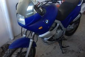 Синий BMW F 650 ST Strada 1997
