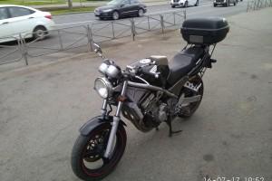 Черный Honda CB 1 (CB 400) 1991