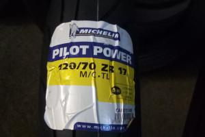 MICHELIN 120/70 R 17M/C (58W) PILOT POWER F TL за 6 600 р.