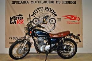 Синий Honda CB 400 SS 2004