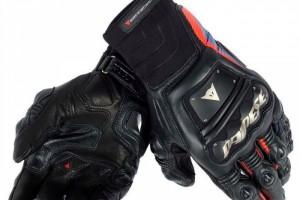 Новые кожаные мотоперчатки Dainese Race Pro In Black Red Blue (М)