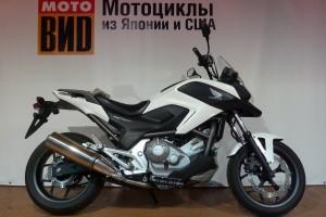Белый Honda NC 700 X 2012