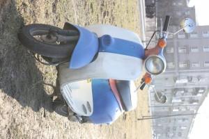 Синий Honda Giorno 1991