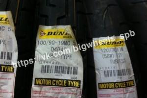 100/90 R19 Dunlop Kabuki D404 57H TT за 6 570 р.