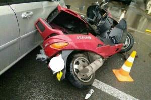Красный металлик Suzuki SkyWave 250 1998