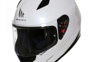 Мотошлем - MT Mugello Solid - White за 6 999 р.