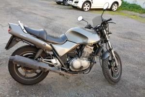 Серый металлик Honda CB 500 1999